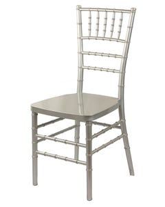 Resin Chiavari Chair - Silver