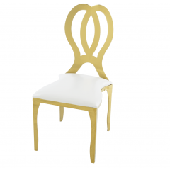 Atlas Collection Emma Dining Chair - Gold