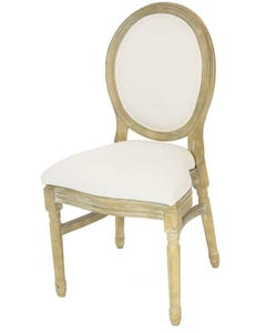 Stackable King Louis Chair - Natural