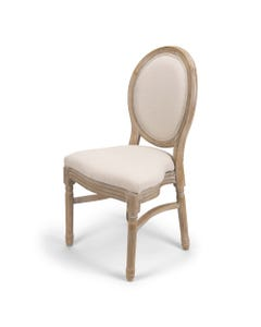Stackable King Louis Chair